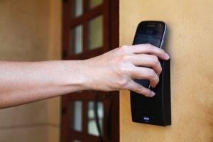 home security system access control